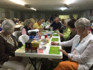 Some of the Bingo players enjoying the games from last year's Event.