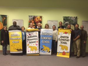 New banners to adorn Johnston Elementary School