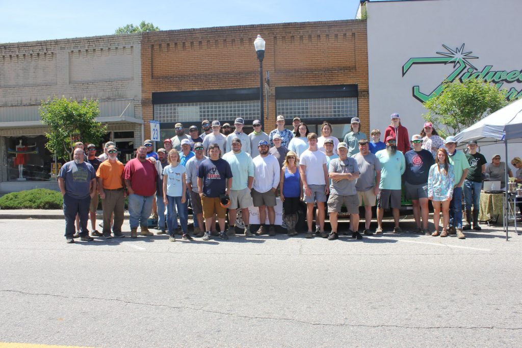 Thirty-eight teams participated in the Bass Fishing Tournament held May 1 as part of the Johnston Peach Blossom Festival